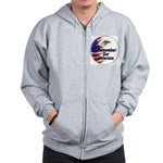 Remember Our Veterans Zip Hoodie