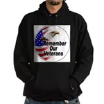 Remember Our Veterans Hoodie (dark)