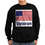 American Flag Veteran Sweatshirt (dark)