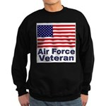 Air Force Veteran Sweatshirt (dark)