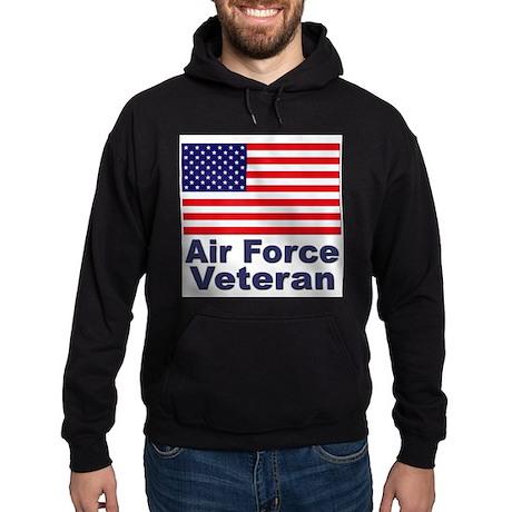 Air Force Veteran Hoodie (dark)