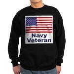 Navy Veteran Sweatshirt (dark)