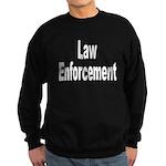 Law Enforcement Sweatshirt (dark)