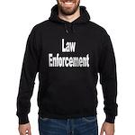 Law Enforcement Hoodie (dark)