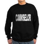 Counselor Sweatshirt (dark)