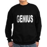 Genius Sweatshirt (dark)