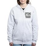 Options Trader Women's Zip Hoodie