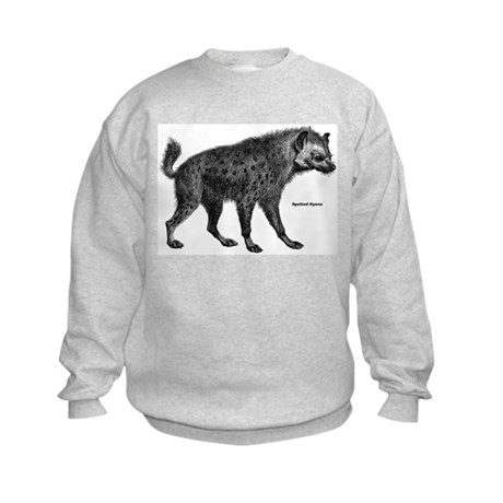 Spotted Hyena Kids Sweatshirt