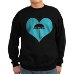 Rainy Forks, WA Sweatshirt (dark)