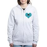 Rainy Forks, WA Women's Zip Hoodie