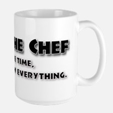 I am the Chef Large Mug