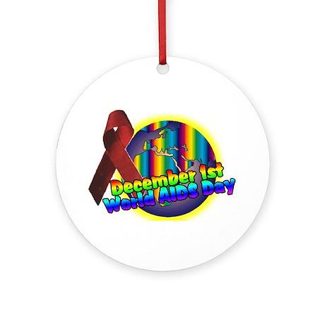 world AIDS day 2 Ornament (Round)