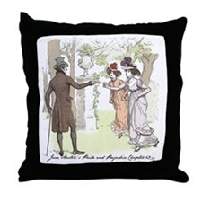 Pride & Prejudice Ch 49 Throw Pillow