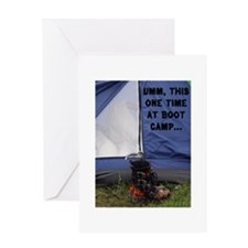 Boot Camp Greeting Card