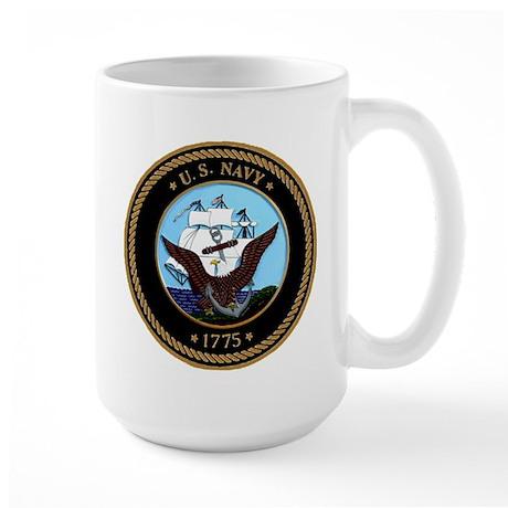 US Navy Logo Large Mug