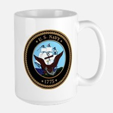 US Navy Logo Mug