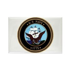 US Navy Logo Rectangle Magnet