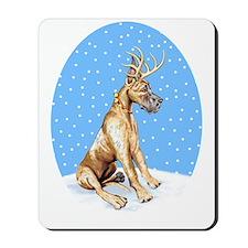 Great Dane Deer Brindle Mousepad