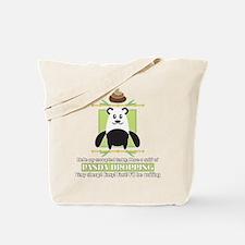 Panda Engrish Tote Bag