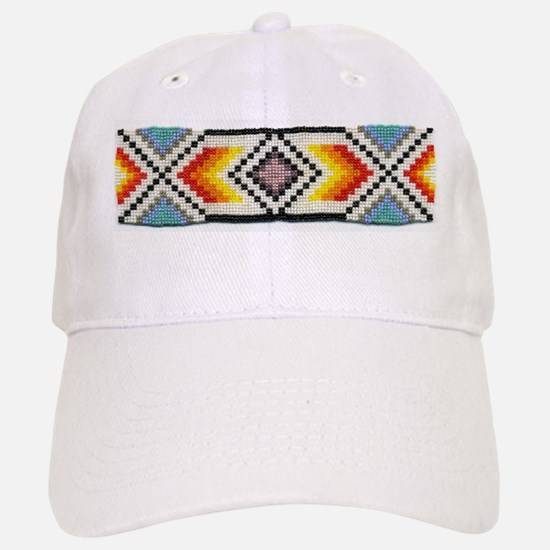 Beaded Tribal Band 2 Baseball Baseball Cap
