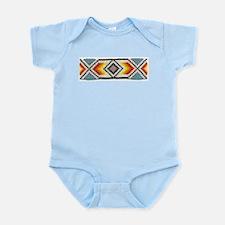 Beaded Tribal Band 2 Infant Creeper