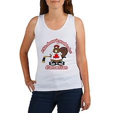 Canadian Beaver Women's Tank Top