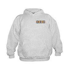 Beaded Tribal Band 2 Hoodie