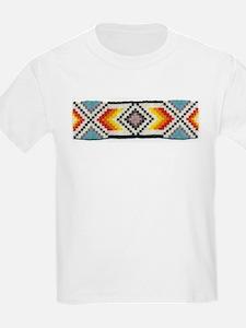 Beaded Tribal Band 2 Kids T-Shirt
