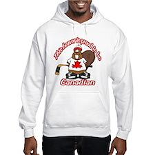 Canadian Beaver Hoodie