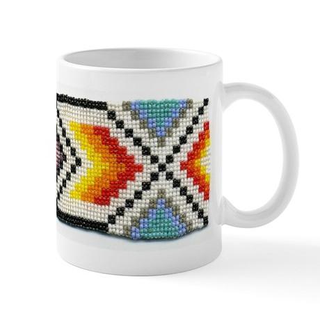 Beaded Tribal Band 2 Mug