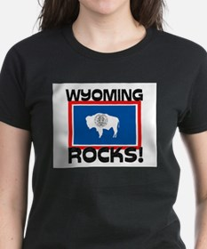 Wyoming Rocks! Tee