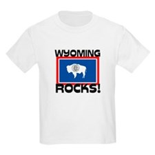 Wyoming Rocks! T-Shirt