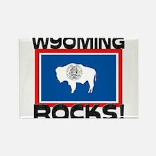 Wyoming Rocks! Rectangle Magnet