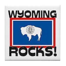 Wyoming Rocks! Tile Coaster