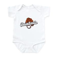 Baseball and Glove Infant Creeper
