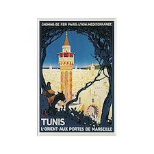 Tunis Tunisia Rectangle Magnet
