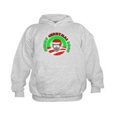 Obama Christmas design Hoodie