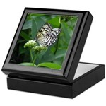 White Butterfly Keepsake Box
