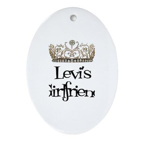 Levi's Girlfriend Oval Ornament