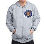 Hillary Clinton for President Zip Hoodie