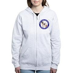 Anti Hillary Clinton Women's Zip Hoodie