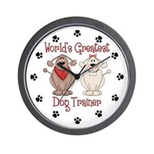 World's Greatest Dog Trainer Wall Clock
