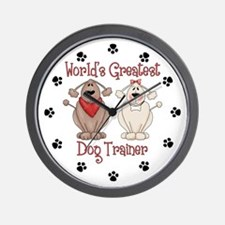 World's Greatest Dog Trainer Wall Clock
