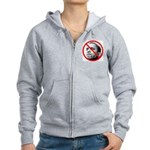 Anti-Barack Obama Women's Zip Hoodie