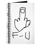 Fuck You, Middle Finger Journal