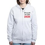 Proud Union Women's Zip Hoodie