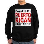 Proud Puerto Rican Heritage Sweatshirt (dark)