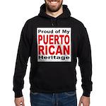 Proud Puerto Rican Heritage Hoodie (dark)