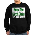 Keep the Earth Clean Sweatshirt (dark)
