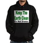 Keep the Earth Clean Hoodie (dark)